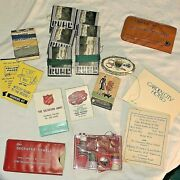 Vintage Lot Advertising Sewing Kits 19 Total Estate Find See Pictures