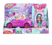 Shopkins Happy Places Mermaid Coral Cruiser Convertible Coralee Shoppie Doll New