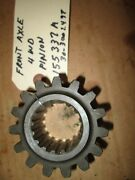 Oliver Tractor1600,1650,1655,1750,1755,1800,1850,1950,2050,2255 4wd Pinion Gear