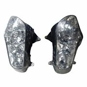 P Motorcycle Head Lamp Headlight Assembly For Honda Gl 1800 Goldwing 2001 - 2006