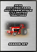 Tractor Pulling Dvd Set 2020 Hot/pro Farm/lt Limited/hot And Farm Stock Tractors