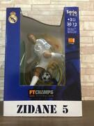 Ft Champs Zidane 5 12 Inch Action Painted Figure W/ Box Used Japan Rsru