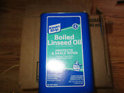 Case Of 4 Klean-strip Green Qlo45 Boiled Linseed Oil 1 Quart Cans M3