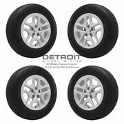16 Jeep Compass Silver Wheels Rims And Tires Oem Set 4 2018-2021 9185
