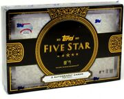 2020 Topps Five Star Baseball Hobby 8 Box Case Blowout Cards
