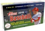 2019 Topps Heritage Baseball Hobby 12 Box Case Blowout Cards