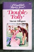 Double Folly By Marnie Ellingson Candlelight Regency Special 572 Vtg Romance