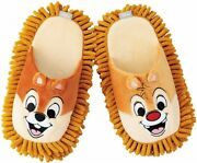 Mop Slippers Cleaning Chip And Dale Disney Kawaii Animation Goods W/tracking