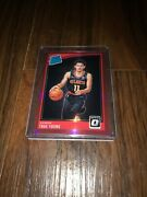 2018-19 Optic Trae Young Rc Rookie Red Prizm Holo Sp /99 Team Color Very Rare