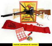 Custom Christmas Story Style Daisy Red Ryder Carbine W/compass And Sundial And Rack