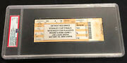 2009 Stanley Cup Finals Game 1 Ticket Penguins Red Wings Psa Very Good 3 Grade