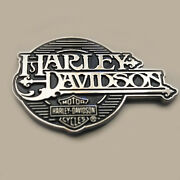 3d Metal Shield Art Emblem / Medallion For Harley Davidson Body /details