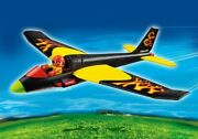 New Playmobil 5215 Sports Action Fire Flyer Airplane Ages 6-10