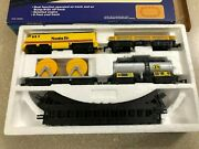Vintage 1988 Santa Fe Battery Operated Toy State Train Set Brand New Free Ship