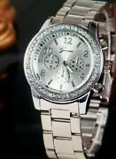 29 Geneva Watches With Elegant Crystal Dials - Gold, Silver, Rose Gold