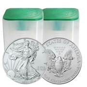 Lot Of 40 - 2021 1 Type 1 American Silver Eagle 1 Oz Brilliant Uncirculated