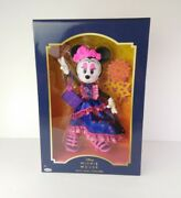 Disney Minnie Mouse Catrina Doll Day Of The Dead Collectors Edition Multicolor