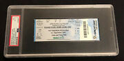 2009 Stanley Cup Finals Game 3 Ticket Penguins Red Wings Psa Vg-ex 4 Grade