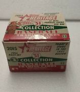 2015 Topps Heritage And03951 Collection Baseball Hobby Box Open Set Only No Inserts