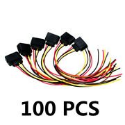 100pcs Ignition Coil Connector Plug Pack Wiring Loom For Audi /vw /skoda /ford