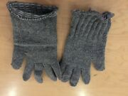 Glove Insert For Military Gloves Usa Made Rag Wool Gray Small Sold As Pair