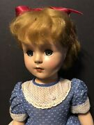 Vintage 1950and039s Nass 18 Inch Nancy Ann Style Show Doll - Very Pretty