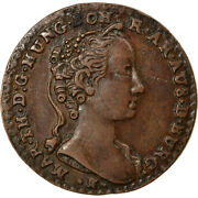 [864652] Coin Austrian Netherlands Maria Theresa Liard Oord 1745 Brussels