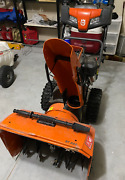 Husqvarna St224 24in 208cc 2-stage Self Propelled Snow Blower Electric Start