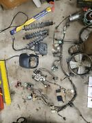 04 Honda Rancher 400 Main Wiring Harness And Coil And Regulator Rectifier