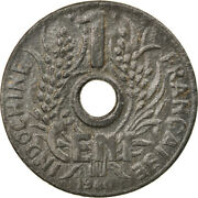 [883086] Coin French Indo-china Cent 1940 Ef40-45 Zinc Km24.3