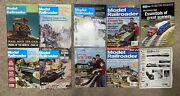 Model Railroader Magazine 10 Issue Lot Ranging From 1968-2007