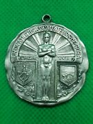 Vintage Swimming Sterling Silver Medal 1929 / Havana- Very Good Condition