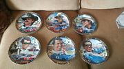 Richard Petty Franklin Mint Collector Plates, Set Of 6