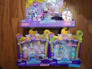 Happy Places Shopkins Royal Crown Carriage, Sweet Celebration, Charming Wedding