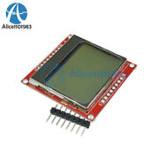 10pcs 8448 Lcd Module Board White Backlight Adapter Pcb For Nokia 5110