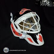 Martin Brodeur Signed Goalie Mask Autographed Mb30 New Jersey Signature Edition