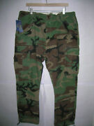 Polo Military Camo Cargo Pants Army Bdu Fatigues 40x32 Msrp 138