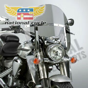 National Cycle Switchblade Chopped Windshield Tinted 15.2 X 22.3 N21424