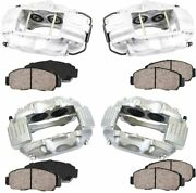 4 Srt8 Brembo Replacement Front And Rear Brake Calipers Dodge Challenger Charger