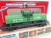 1993 American Flyer Green British Columbia Tank Car By Lionel. 48403 Read On