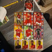 Panini Fifa 365 2021 Not Sold In Uk Stores--9 Manchester United Cards And Stickers