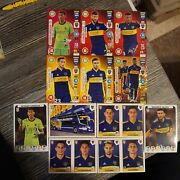 Panini Fifa 365 2021 Not Sold In Uk Stores--12 Boca Juniors Cards And Stickers
