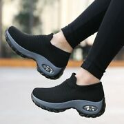 New Women's Running Shoes Socks Sneakers Athletic Ladies Comfort Sports Shoes