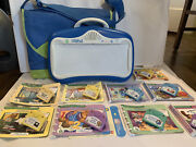 Leap Frog Little Touch Leap Pad Learning System Lot 9 Games /books And Case