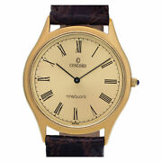 Concord 2081215 Quartz In 14k Yellow Gold With Champagne Dial 34mm Quartz Watch