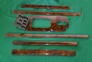 1995 Range Rover Classic Dashboard And Center Cosule Wood Complete Set