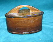 18 Century European Sewing Wooden Box  Magnificent