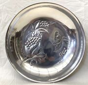 Wallace American Sterling Silver 10and039and0391/2 Diameter Repousse Bowl