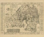 1898 Map Of Duval County Fla | Florida Map Reproduction | Vintage Duval Co. Fla