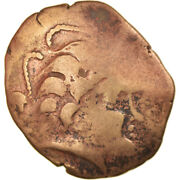 [856972] Coin Pictones Stater 80-50 Bc Poitiers Ef40-45 Electrum
